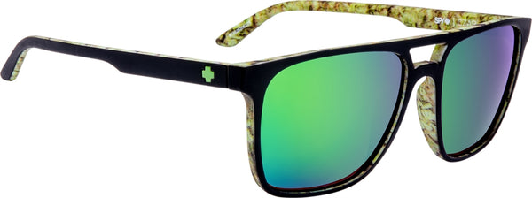 Spy - Czar Matte Black + Cushwall Sunglasses / Happy Bronze with Green Spectra Lenses