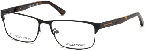 Skechers - SE3202 Matte Black Eyeglasses / Demo Lenses
