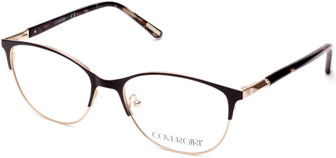 Cover Girl - CG0540 Matte Black Eyeglasses / Demo Lenses