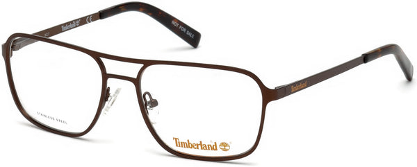 Timberland - TB1593 58mm Matte Dark Brown Eyeglasses / Demo Lenses