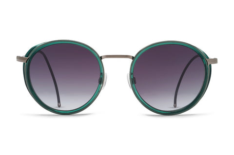 VonZipper - Empire Translucent Emerald Sunglasses / Grey Gradient Lenses