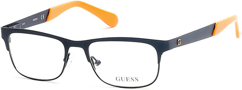 Guess - GU9168 Matte Blue Eyeglasses / Demo Lenses