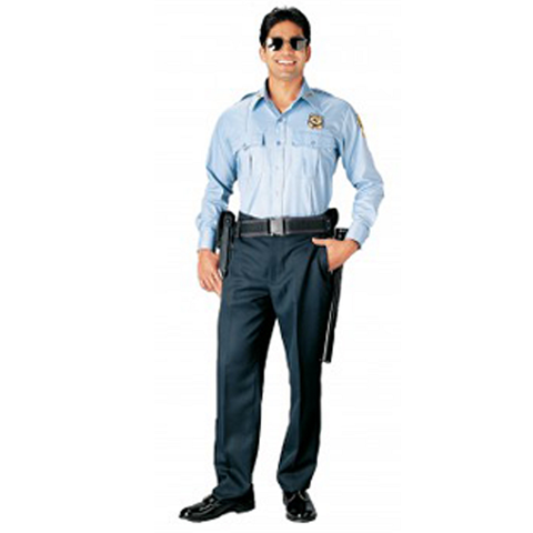 Rothco - Long Sleeve Light Blue Uniform Shirt