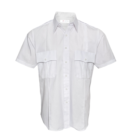Rothco - Short Sleeve Law Enforcement & Security Professionals White Uniform Shirt