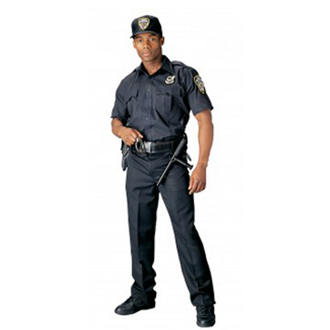 Rothco -  Short Sleeve Law Enforcement & Security Professionals Midnight Navy Blue Uniform Shirt