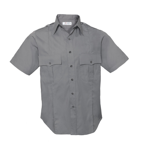 Rothco - Short Sleeve Law Enforcement & Security Professionals Grey Uniform Shirt