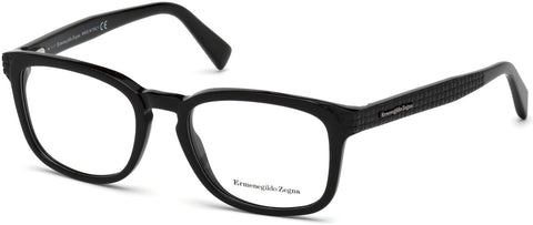 Ermenegildo Zegna - EZ5109 Shiny Black Eyeglasses / Demo Lenses