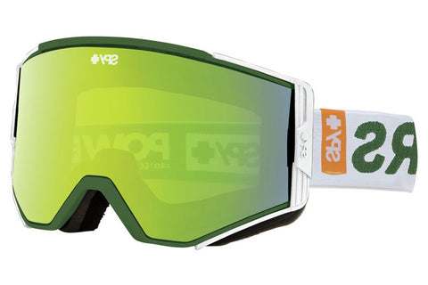 Spy - Ace Bronze Goggles, Green Spectra + Persimmon Lenses