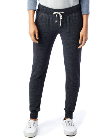 Alternative Apparel - Eco Fleece Eco Black Jogger Pants