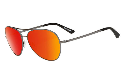Spy - Whistler Gunmetal Sunglasses, Happy Grey Green W/ Red Spectra Lenses