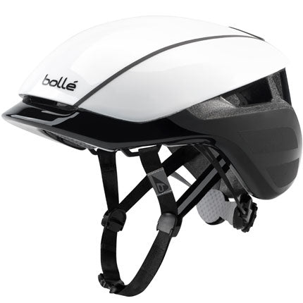 Bolle - Messenger Premium 58-62cm Black White Bike Helmet