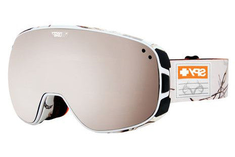 Spy Bravo Real Tree Goggles, Happy Bronze W/ Silver Mirror + Happy Yellow W/ Green Spectra  Lenses