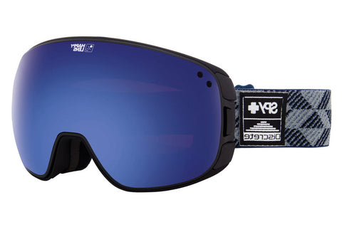 Spy - Bravo Spy + Discrete  Goggles, Happy Dark Blue Spectra + Happy Lucid Red Lenses
