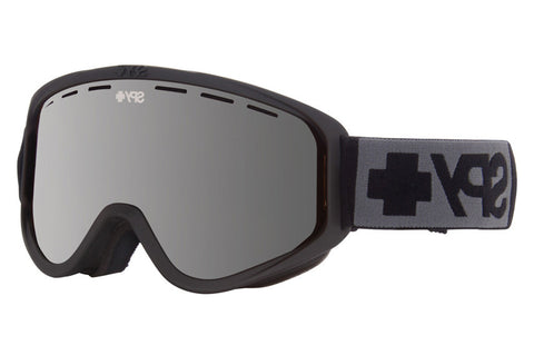 Spy - Woot Matte Black Goggles, Silver Mirror Lenses