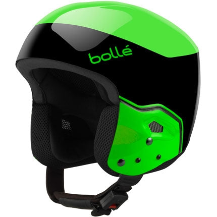 Bolle - Medalist 57-58cm Black Flash Green Snow Helmet
