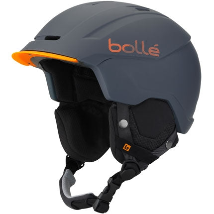 Bolle - Instinct 58-61cm Soft Grey Orange Snow Helmet