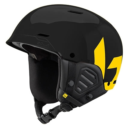 Bolle - Mute 55cm-59cm Shiny Black Yellow  Snow Helmet