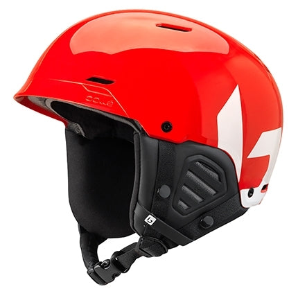 Bolle - Mute 55cm-59cm Shiny Red White  Snow Helmet