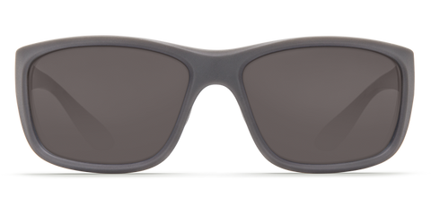 Costa - Tasman Sea Matte Gray Sunglasses / Gray Polarized Plastic Lenses