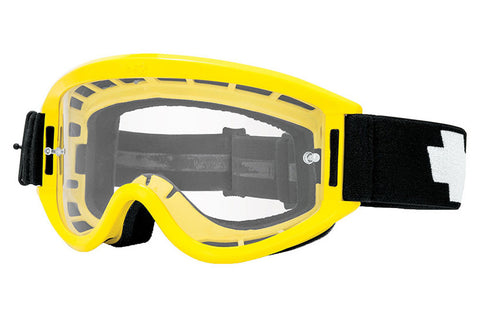 Spy - Breakaway Yellow Moto Goggles, Clear W/ Post Lenses