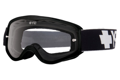 Spy - Cadet MX Black Moto Goggles, Clear W/ Post Lenses
