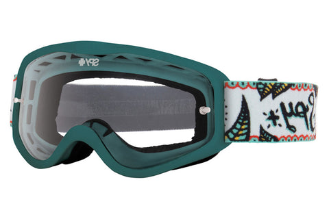 Spy - Cadet MX Calaveras Moto Goggles, Clear W/ Post Lenses