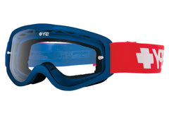 Spy - Cadet MX Classic USA Moto Goggles, Clear W/ Post Lenses