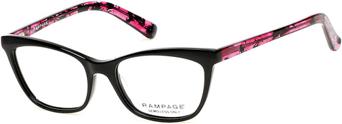 Rampage - RA0198 Black Eyeglasses / Demo Lenses