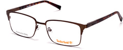 Timberland - TB1604 53mm Matte Dark Brown Eyeglasses / Demo Lenses