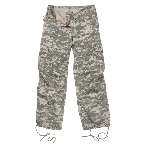 Rothco - Women's Vintage Paratrooper ACU Digital Camo Fatigue Pants