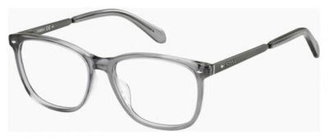 Fossil - Fos 6091 Crystal Gray Eyeglasses / Demo Lenses