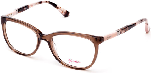 Candie's - CA0508 49mm Shiny Light Brown Eyeglasses / Demo Lenses