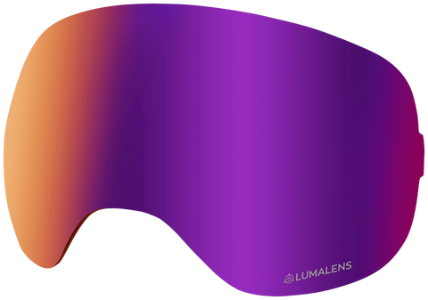 Dragon - X2 Purple Ion Snow Goggle Replacement Lens