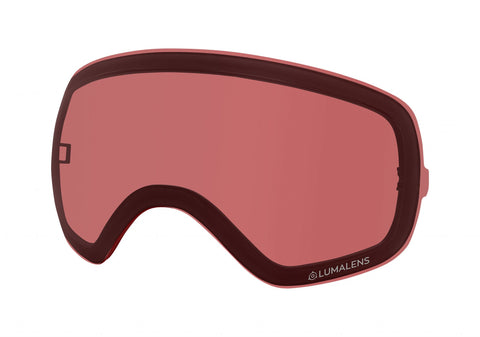 Dragon - X2S Lumalens Rose Snow Goggle Replacement Lens