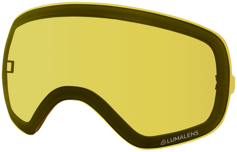 Dragon - X2s Yellow Snow Goggle Replacement Lens