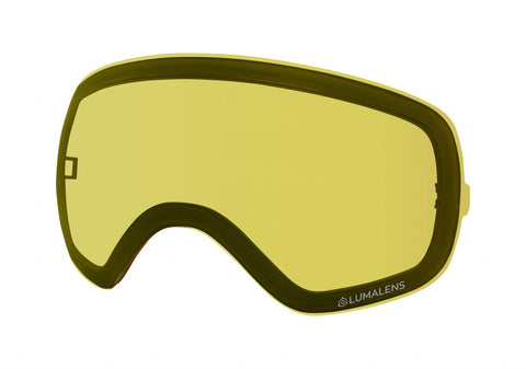 Dragon - X2S Lumalens Yellow Snow Goggle Replacement Lens