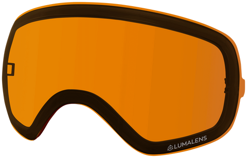 Dragon - X2s Amber Snow Goggle Replacement Lens