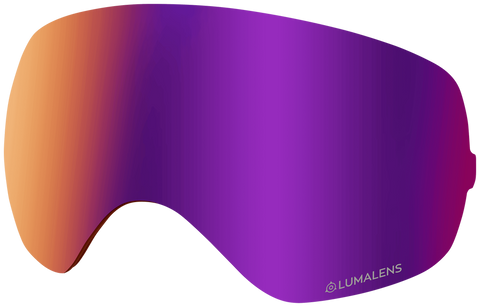 Dragon - X2s Purple Ion Snow Goggle Replacement Lens