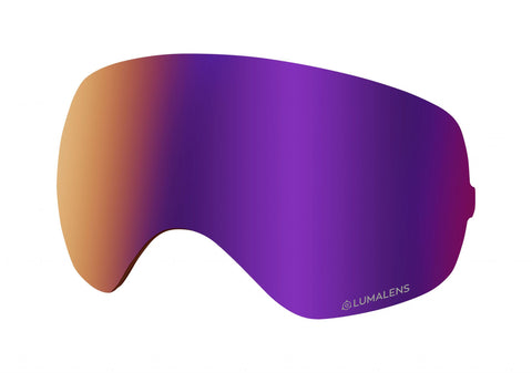 Dragon - X2S Lumalens Purple Ion Snow Goggle Replacement Lens