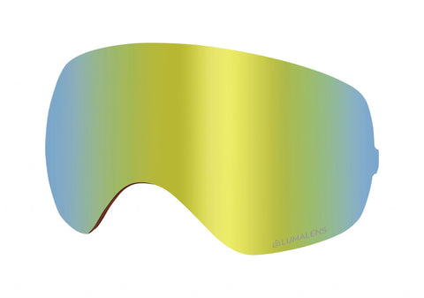 Dragon - X2S Lumalens Gold Ion Snow Goggle Replacement Lens