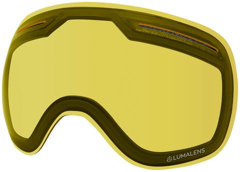 Dragon - X1 Yellow Snow Goggle Replacement Lens