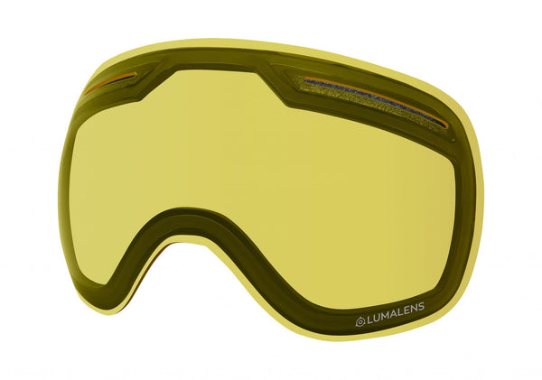 Dragon - X1 Lumalens Yellow Snow Goggle Replacement Lens