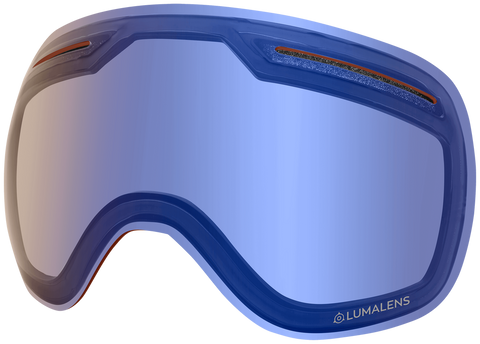 Dragon - X1 Flash Blue Snow Goggle Replacement Lens