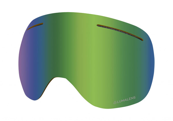 Dragon - X1 Lumalens Green Ion Snow Goggle Replacement Lens
