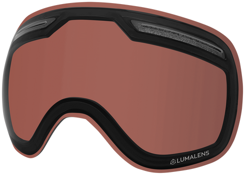 Dragon - X1 Rose Polarized Snow Goggle Replacement Lens