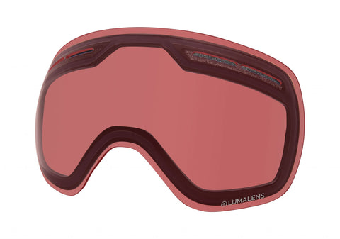 Dragon - X1S Lumalens Rose Snow Goggle Replacement Lens