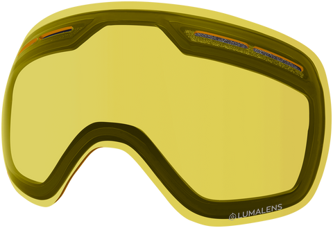 Dragon - X1s Yellow Snow Goggle Replacement Lens