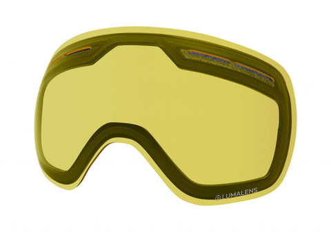 Dragon - X1S Lumalens Yellow Snow Goggle Replacement Lens