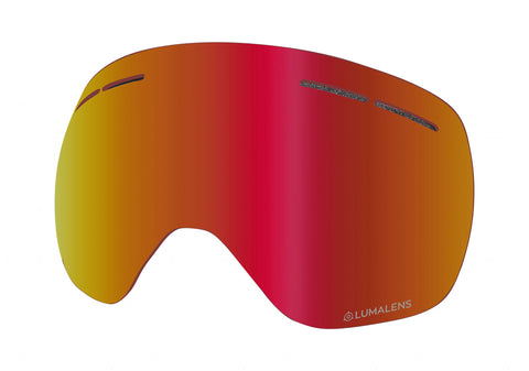 Dragon - X1 Lumalens Red Ion Snow Goggle Replacement Lens