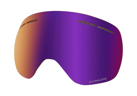 Dragon - X1S Lumalens Purple Ion Snow Goggle Replacement Lens